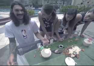 THROWBACK: Steven Adams' boodle fight with Perlas Spikers