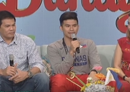 WATCH: Kiefer expresses his gratitude towards his parents