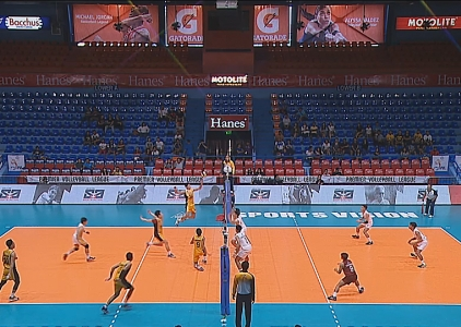 PREMIER VOLLEYBALL LEAGUE : UP vs UST (S2)
