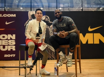 The Score: One-on-One with LeBron James