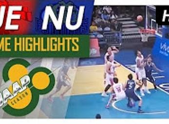 UAAP 80 Men's Basketball Highlights: NU vs. UE (Round 1)