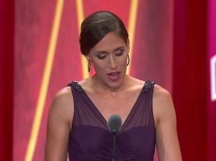 2017 Hall of Fame Ceremony: Rebecca Lobo