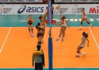 PREMIER VOLLEYBALL LEAGUE GAME HIGHLIGHTS: LPU vs JRU