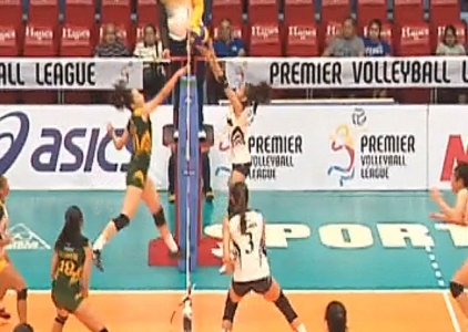PREMIER VOLLEYBALL LEAGUE GAME HIGHLIGHTS: NU vs FEU