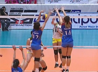 PREMIER VOLLEYBALL LEAGUE GAME HIGHLIGHTS: TIP vs AU