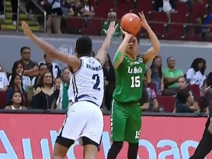 UAAP 80 MEN'S BASKETBALL ROUND 1: AdU vs DLSU (Q1)