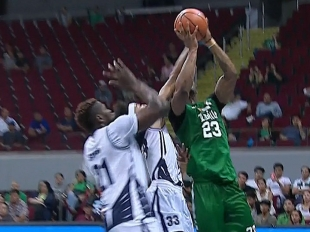 UAAP 80 MEN'S BASKETBALL ROUND 1: AdU vs DLSU (Q3)