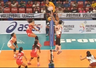 PREMIER VOLLEYBALL LEAGUE GAME HIGHLIGHTS: SBC vs UP