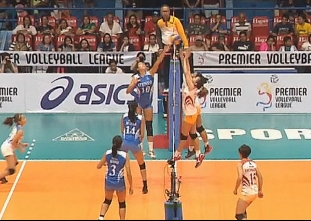 PREMIER VOLLEYBALL LEAGUE GAME HIGHLIGHTS: SSC-R vs ADMU