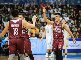 Diego Dario banks in the tough floater over Ben Mbala!