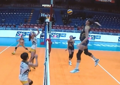 PREMIER VOLLEYBALL LEAGUE GAME HIGHLIGHTS: JRU vs NU