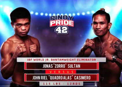 Pinoy Pride 42: Sultan vs.  Casimero (FULL MATCH)