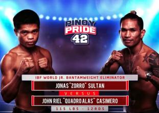 Pinoy Pride 42: Sultan vs.  Casimero (FULL MATCH)