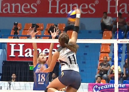 PREMIER VOLLEYBALL LEAGUE GAME HIGHLIGHTS: NU vs AU