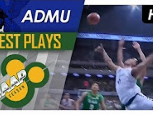 Ravena goes high off the glass for the acrobatic finish