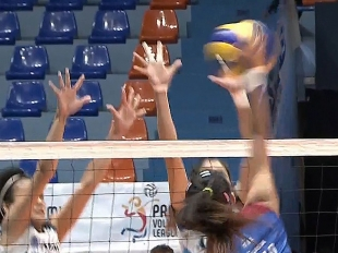 PREMIER VOLLEYBALL LEAGUE GAME HIGHLIGHTS: AU vs ADU
