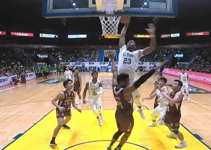 UAAP 80 MEN'S BASKETBALL ROUND 2: DLSU vs UP (Q1)
