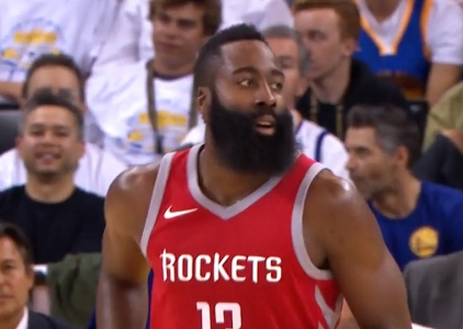 James Harden scores 27 points vs the Golden State Warriors