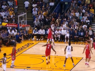 Nick Young drops 23 points on the Houston Rockets