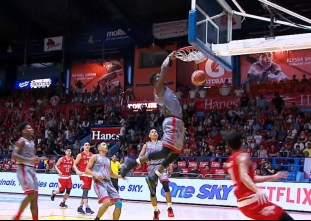 NCAA 93 : LPU vs SBC (Q4)