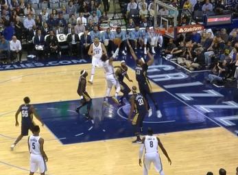 Mike Conley drops 27 points vs the Pelicans