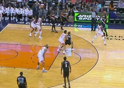 GAME RECAP: Portland Trail Blazers 124, Phoenix Suns 76