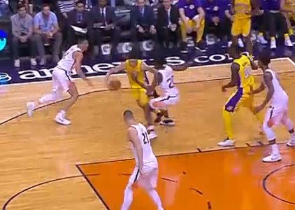 GAME RECAP: Lakers 132, Suns 130
