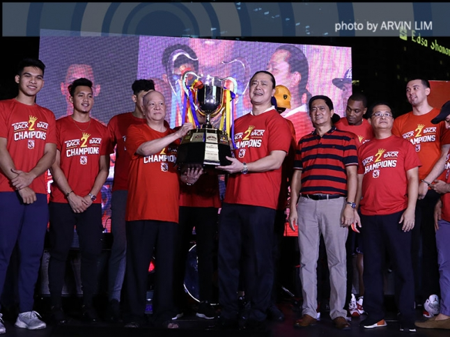 The Score: Gin Kings celebrate their back-to-back PBA titles