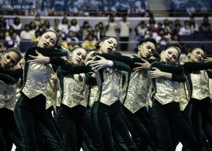 WATCH: FEU Cheering Squad   Performance   UAAP 79 CDC