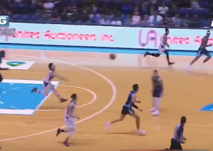 UP Fighting Maroons execute fastbreak to perfection
