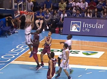 UAAP 80 MEN'S BASKETBALL ROUND 2: ADMU vs UP Game Highlights
