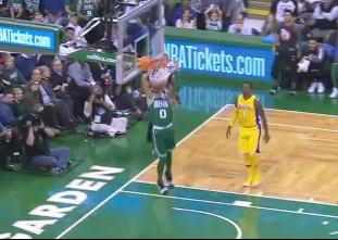GAME RECAP: Celtics 107, Lakers 96