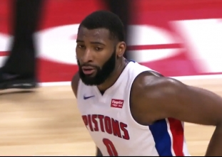 Andre Drummond scores 16 points vs the Hawks