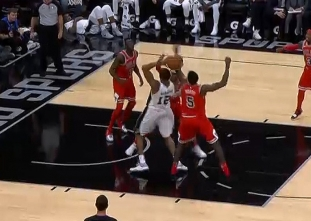 GAME RECAP: Spurs 133, Bulls 94