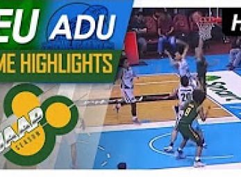WATCH! ADU vs FEU Game Highlights