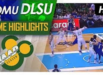 WATCH! DLSU vs ADMU Game Highlights