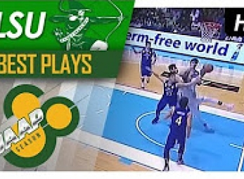 WATCH! Ben Mbala scary fall fighting for the rebound