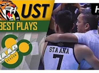 WATCH! UST Growling Tigers emotional after scoring win