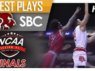 Creative San Beda passing leads to a Jayvee Mocon and-one!
