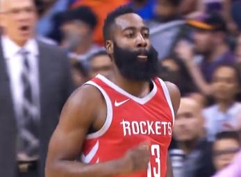 James Harden scores 48 points vs the Suns