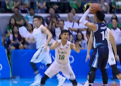 UAAP 80 MEN'S BASKETBALL FINAL FOUR: DLSU vs ADU (Q1)