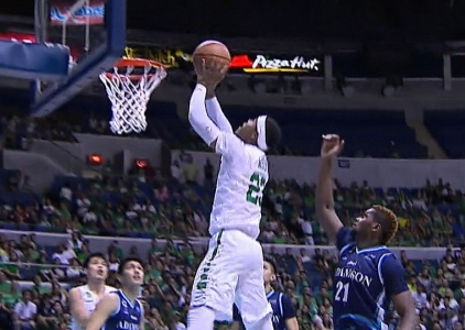 UAAP 80 MEN'S BASKETBALL FINAL FOUR: DLSU vs ADU (Q4)