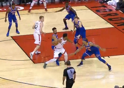 GAME RECAP: Raptors 107, Knicks 84