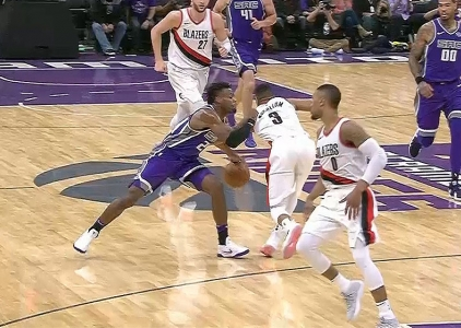GAME RECAP: Trailblazers 82, Kings 86