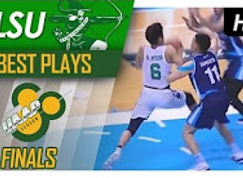 WATCH! Ricci Rivero with the eurostep and the scoooop shot!