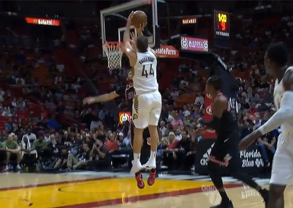 Bojan Bogdanovic with 26 points vs Miami Heat