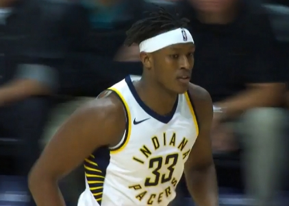 Myles Turner scores 25 points vs the Heat