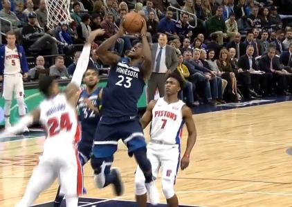 Jimmy Butler scores 26 points vs the Pistons