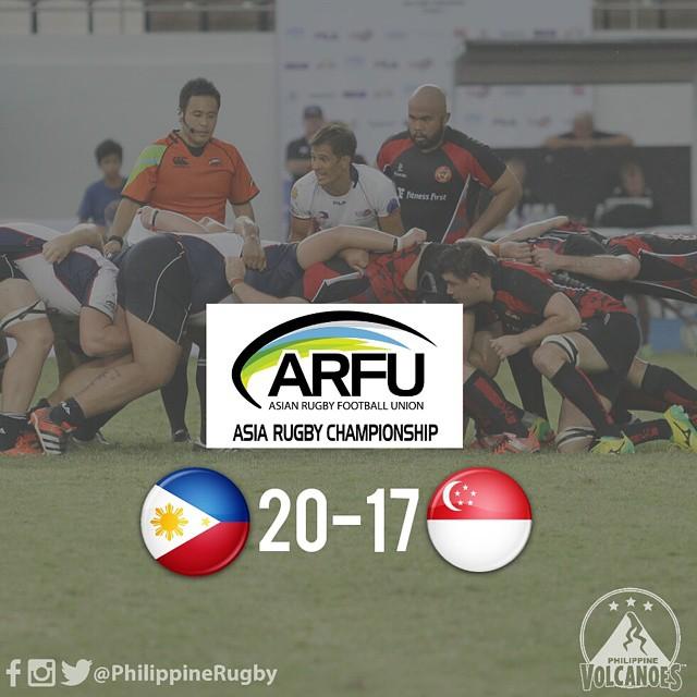 Volcanoes defeat Singapore in ARC Division I semis