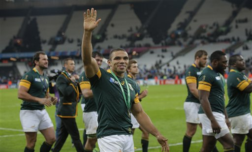 Springboks finish 3rd at Rugby World Cup